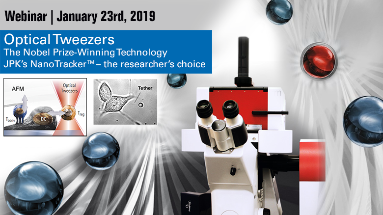 Optical Tweezers Webinar -  Jan 23, 2019